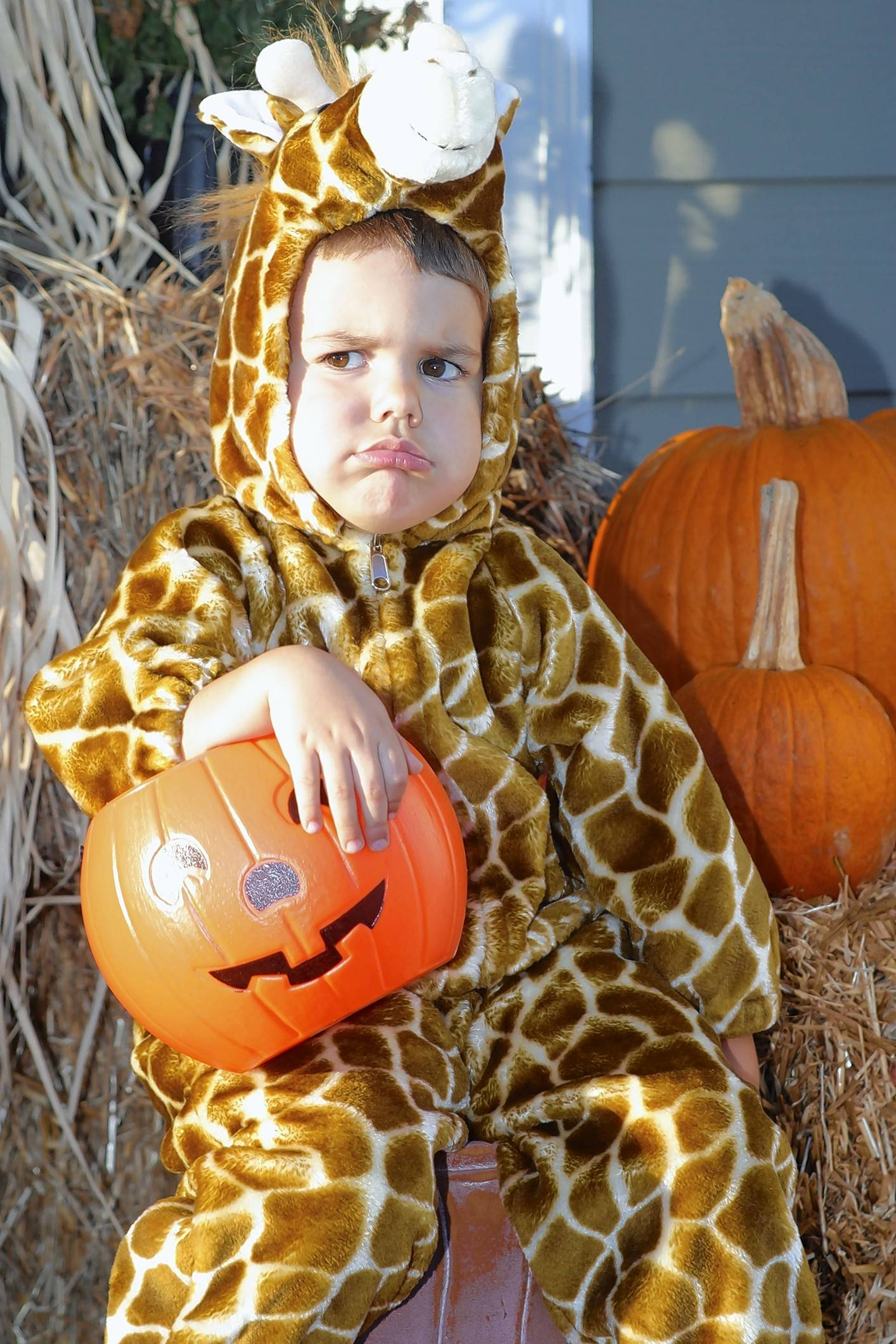 Costumes are often especially hard for kids with autism and sensory issues.
