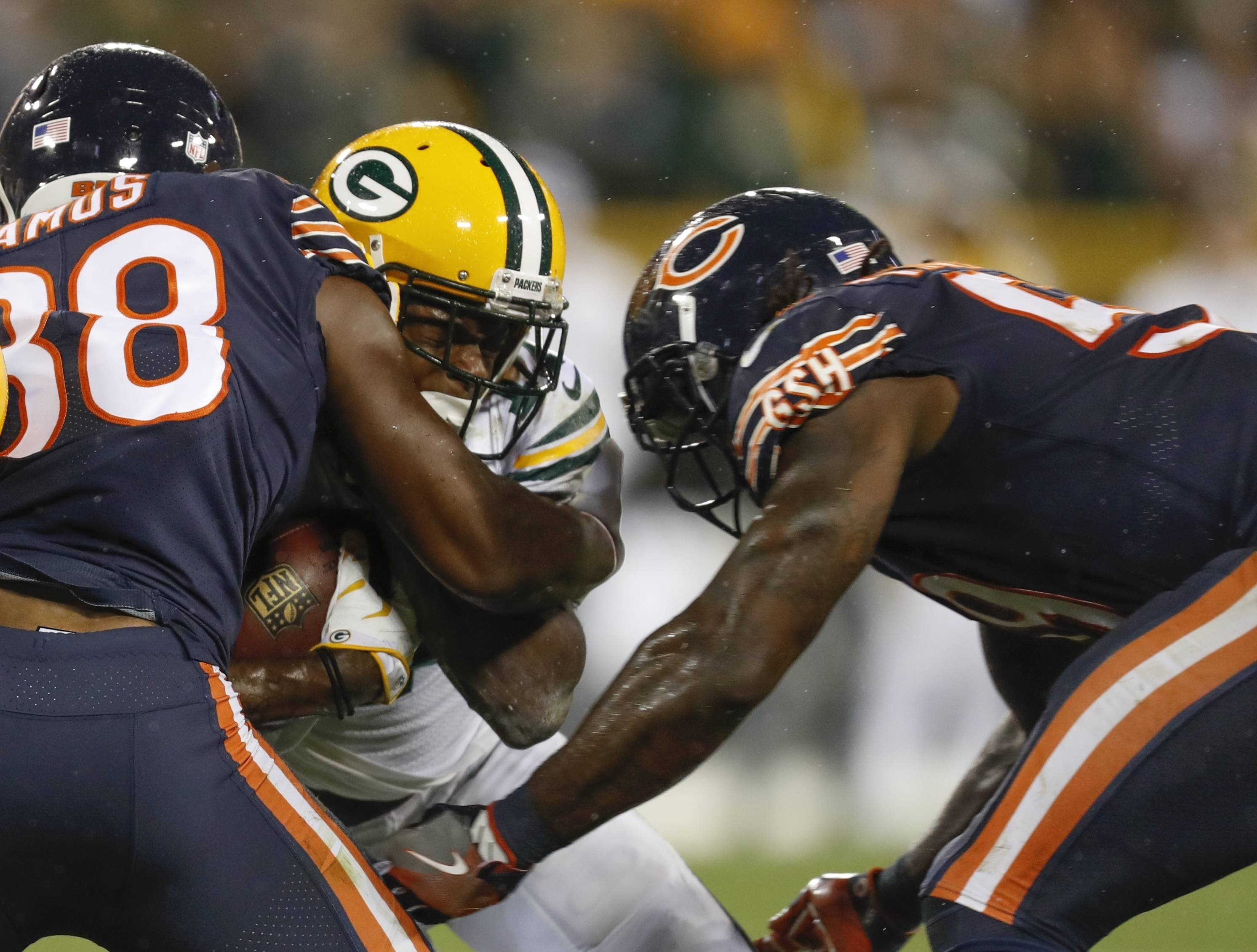 Bears linebacker Danny Trevathan has been suspended without pay for two games by the NFL for a violation of safety-related playing rules in Thursday night's game against the Green Bay Packers.