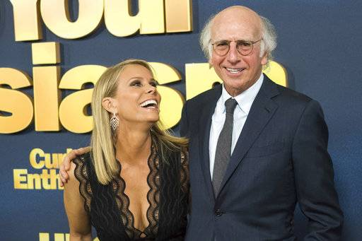 "Cheryl Hines and Larry David star in the return of HBO's ""Curb Your Enthusiasm."""