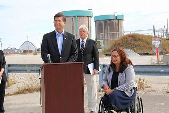 Courtesy of Congressman Brad Schneider's officeCongressman Brad Schneider and U.S. Sen. Tammy Duckworth are proposing legislation that would provide financial and economic assistance to towns like Zion that house nuclear waste.