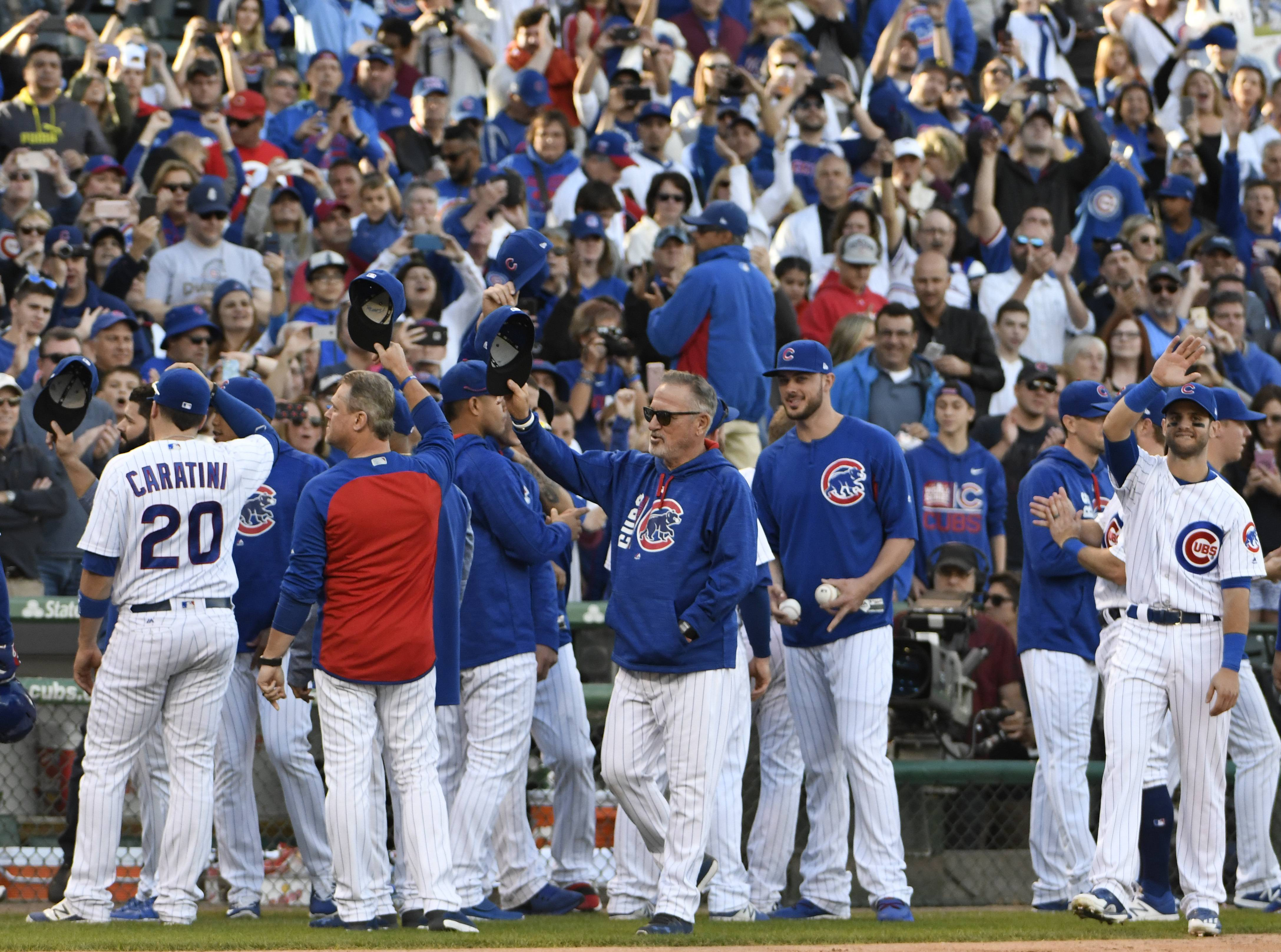Season over, Chicago Cubs look forward to playoffs
