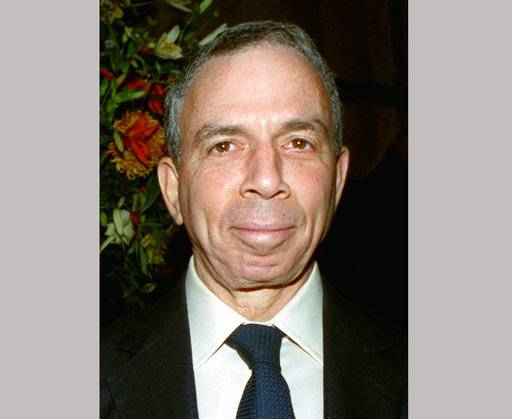FILE - This undated photo shows billionaire media mogul Samuel I. Newhouse Jr., who died at his New York home on Sunday, Oct. 1, 2017. He was 89.