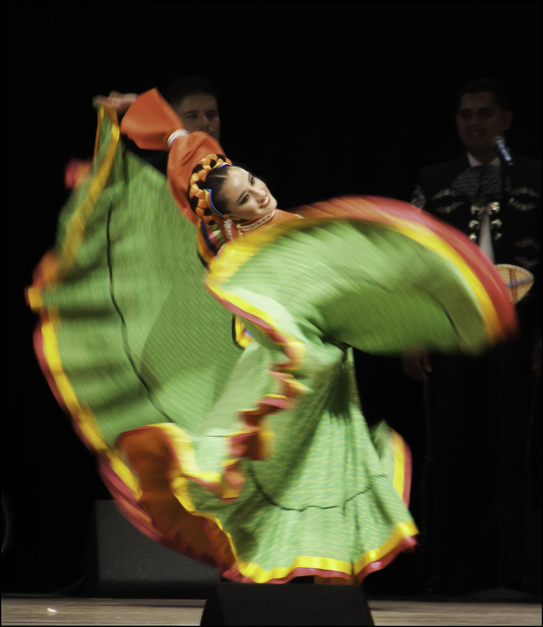 For her photo of a Jalisco dancer performing at Millennium Park, Nina Pulliam of Itasca is the September winner of the Daily Herald's Photo Finish contest.