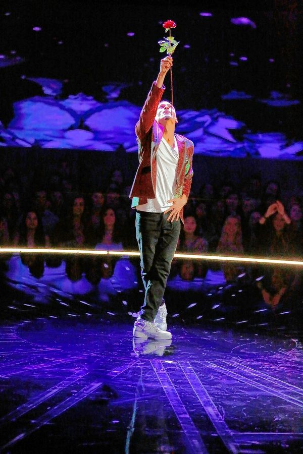 "Elgin native Trent Jeray, performing here on the NBC show ""World of Dance,"" was in the Mandalay Bay Resort & Casino when the shooting began."