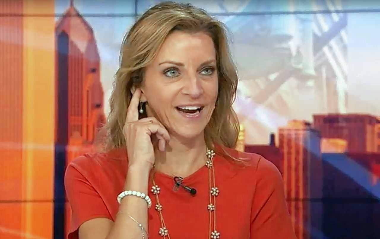 Kathy Hart surfaced for the time in months when she guest hosted last week on 'Good Day Chicago' on Fox 32