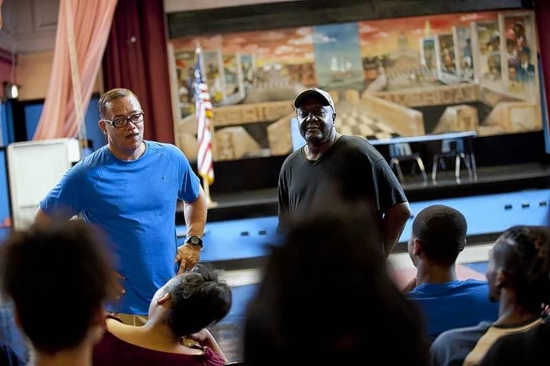 chicago teens fix decrepit auditoriums  dodge citys gun violence