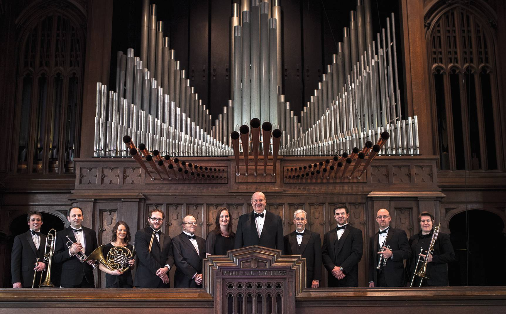 The Chicago Gargoyle Brass and Organ Ensemble will play works based on melodies composed by Protestant Reformation leader Martin Luther.Chicago Gargoyle Brass and Organ Ensemble