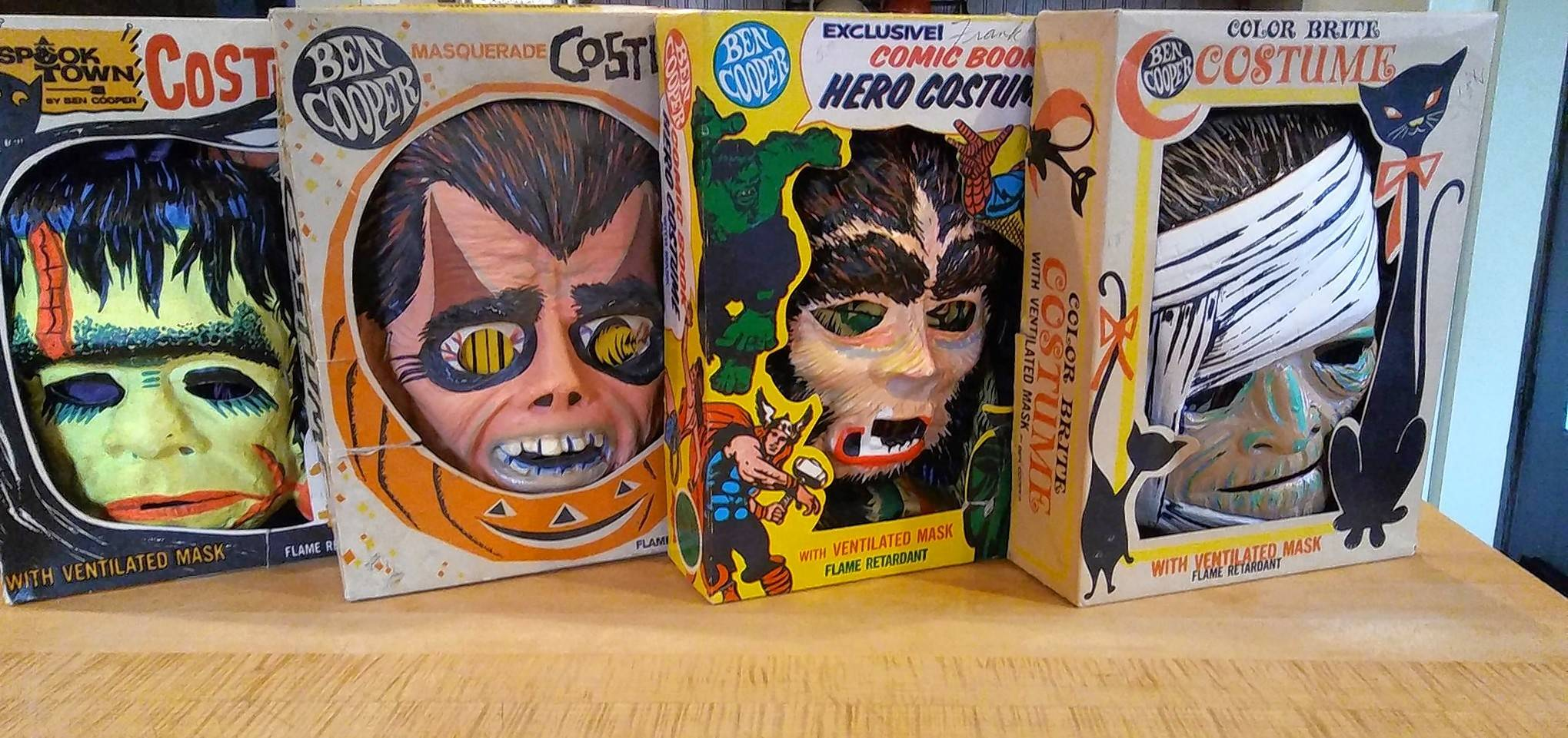 One of the largest vintage boxed dime-store Halloween costume collections in the Midwest & Local antiques dealer to sell large vintage boxed dime-store ...