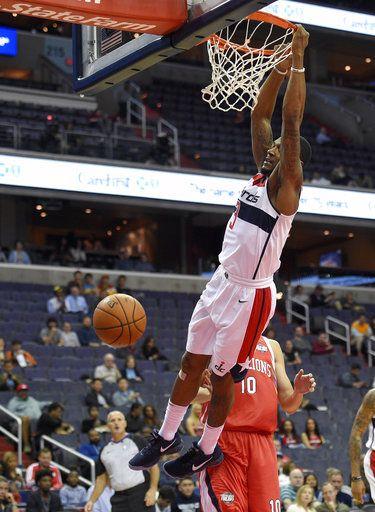 Meeks, Mac lead Wizards to 126-96 win over Guangzhou