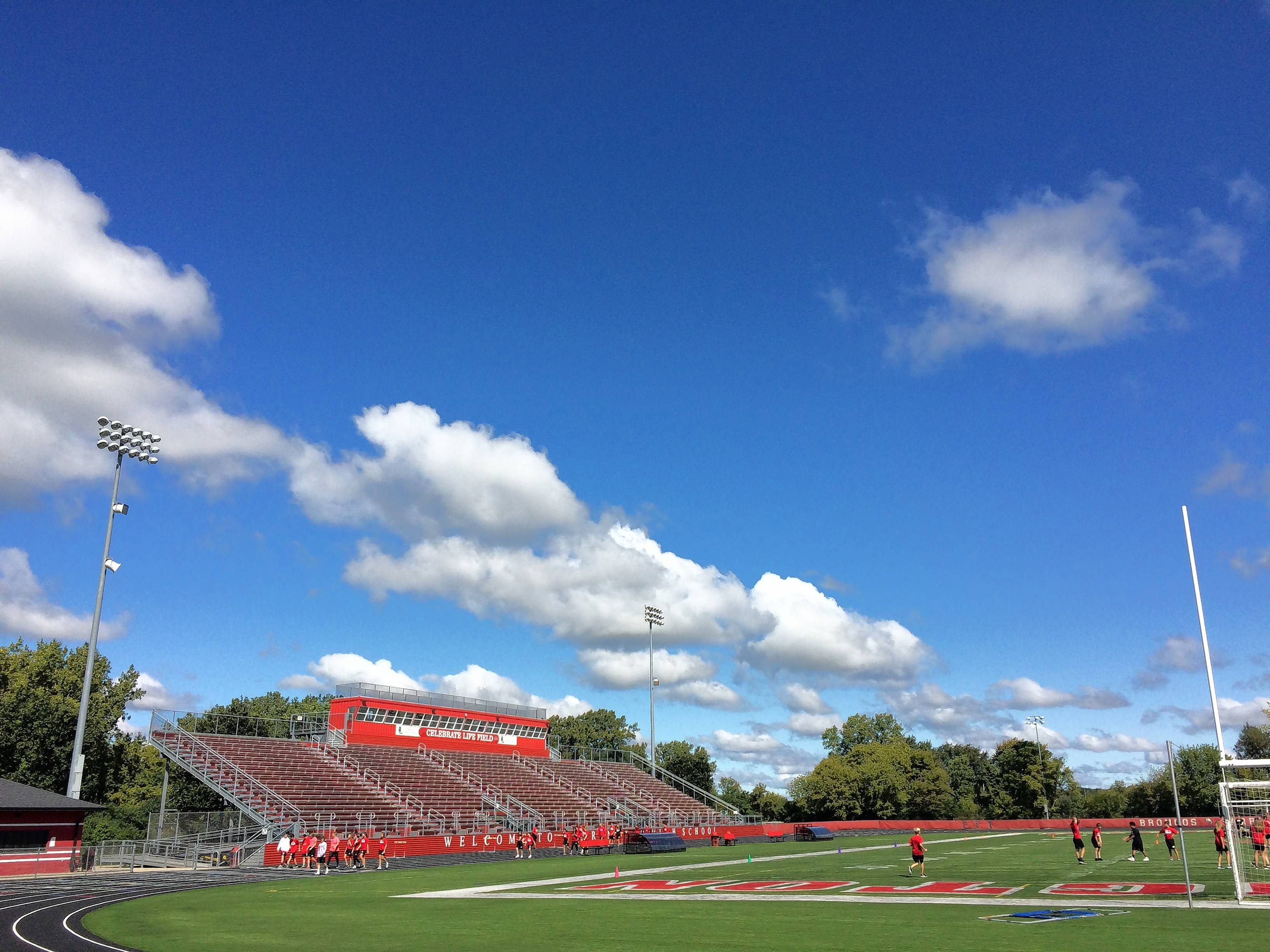 An estimated $920,000 in potential scoreboard and field renovation costs for Barrington High School's outdoor stadium could be defrayed by another round of private contributions, including advertising and naming-rights deals, officials said.