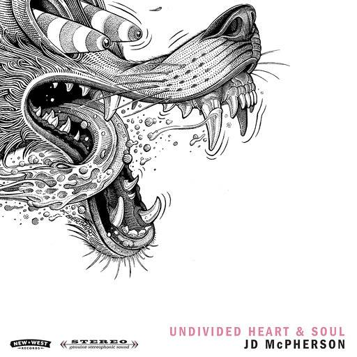 "This cover image released by New West Records shows ""Undivided Heart & Soul,"" by JD McPherson. (New West Records via AP)"