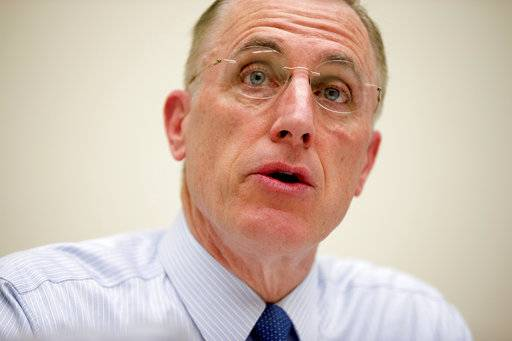 FILE - In this March 26, 2015, file photo, Rep. Tim Murphy, R-Pa. speaks on Capitol Hill in Washington. Murphy who was caught up in affair scandal, announces he plans to retire at end of his current term.