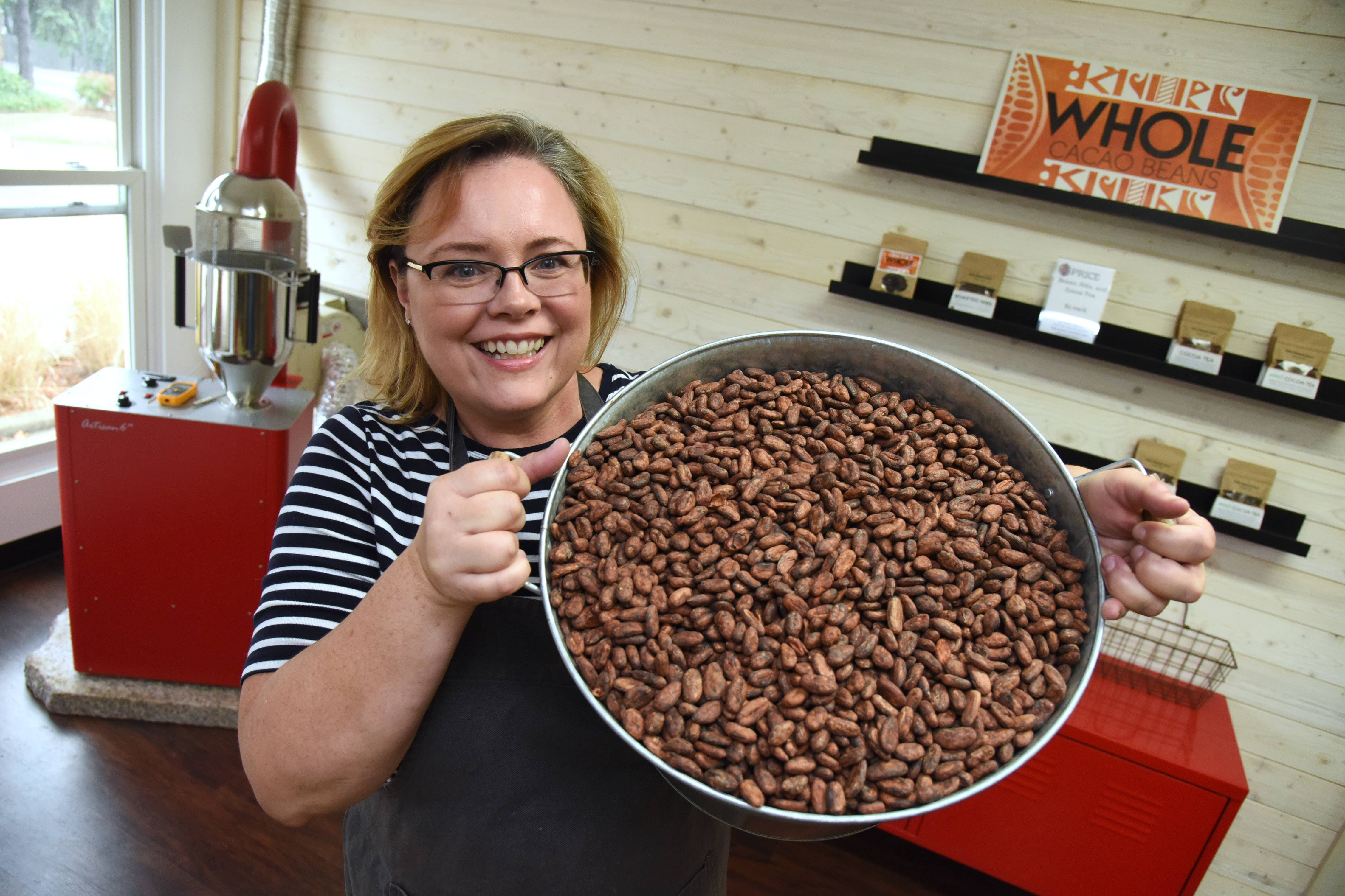 Chocolate shop opens in downtown Wauconda