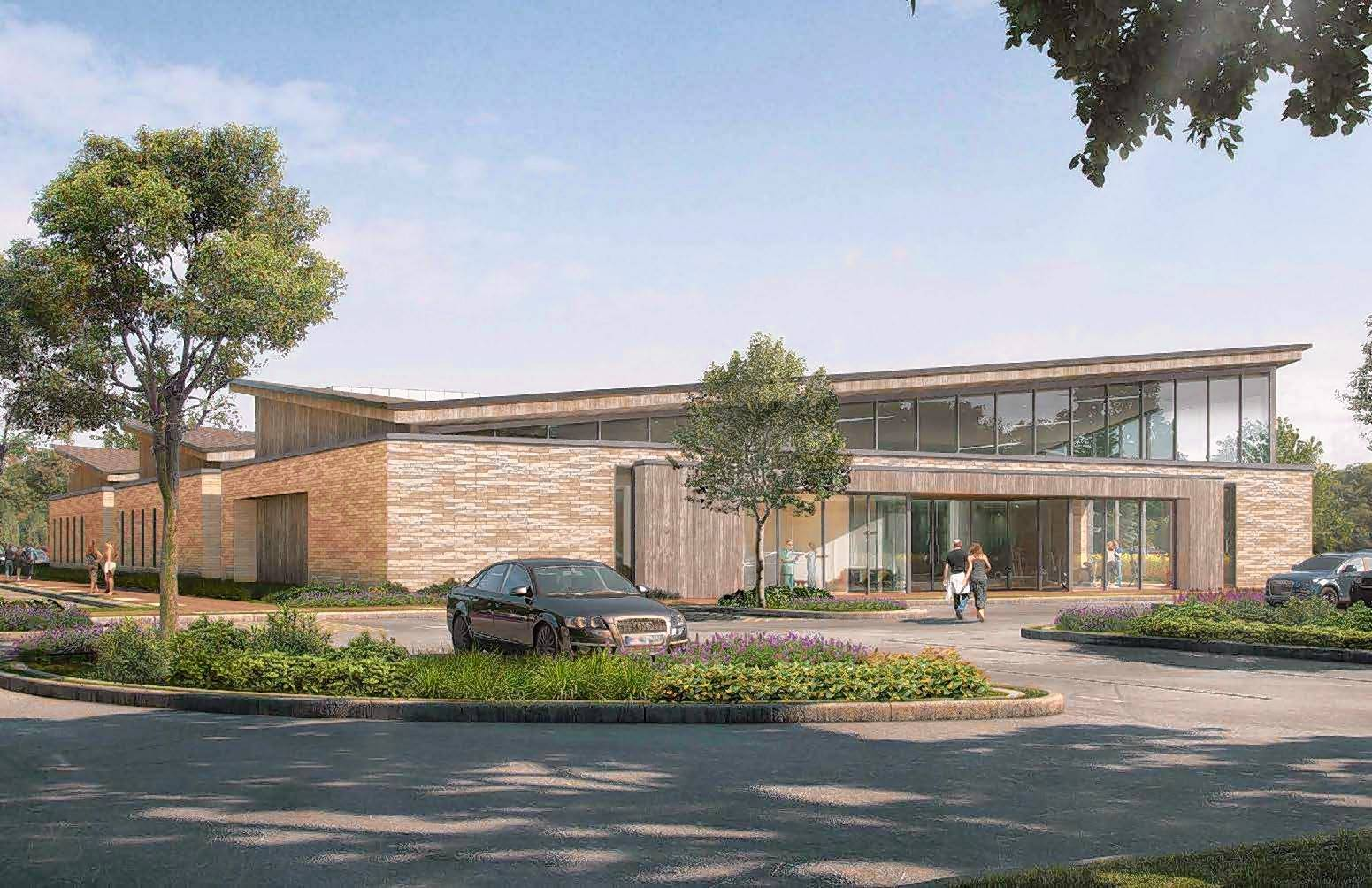 Krusinski Construction breaks ground on rehab center