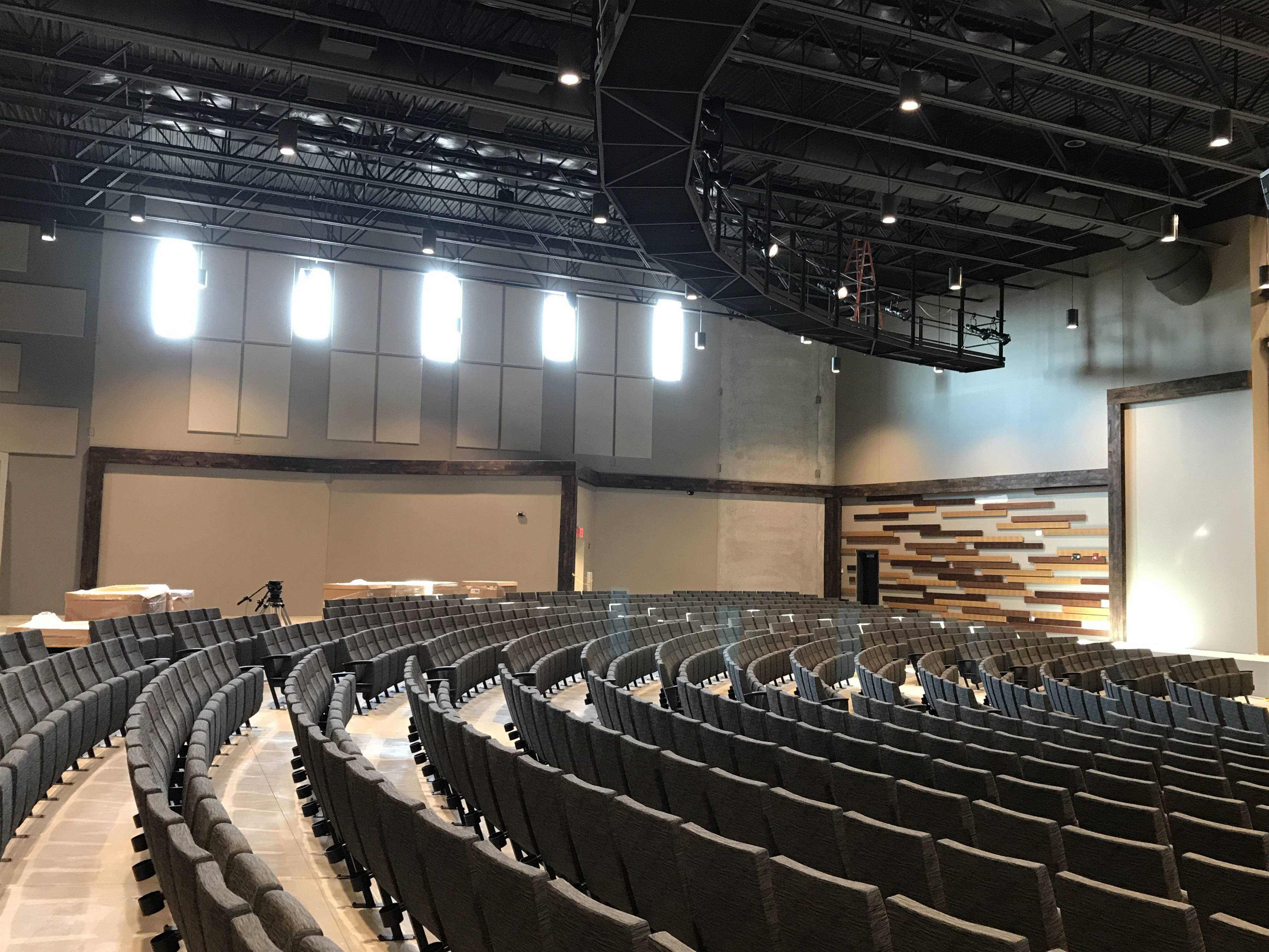 Willow Crystal Lake Church will open its permanent new home at 100 S. Main St. in downtown Crystal Lake later this month. The space has been developed with more than 150 church volunteers putting in more than 10,000 hours of work. A grand opening party and services are Oct. 21 and 22.