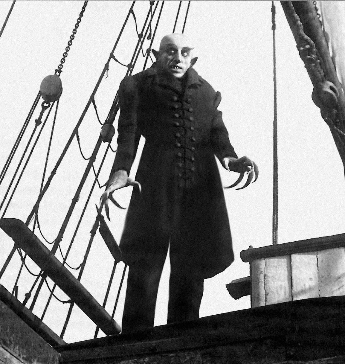 "On Monday, Oct. 16, learn about ""Nosferatu,"" a 1922 silent film by the German Expressionist director F.W. Murnau, with film lecturer John Nygro at the St. Charles Public Library."