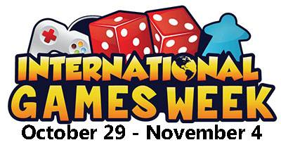 "For International Games Week, Aurora Public Library's Eola Road Branch will offer a ""Game Extravaganza"" on Thursday, Nov. 2."