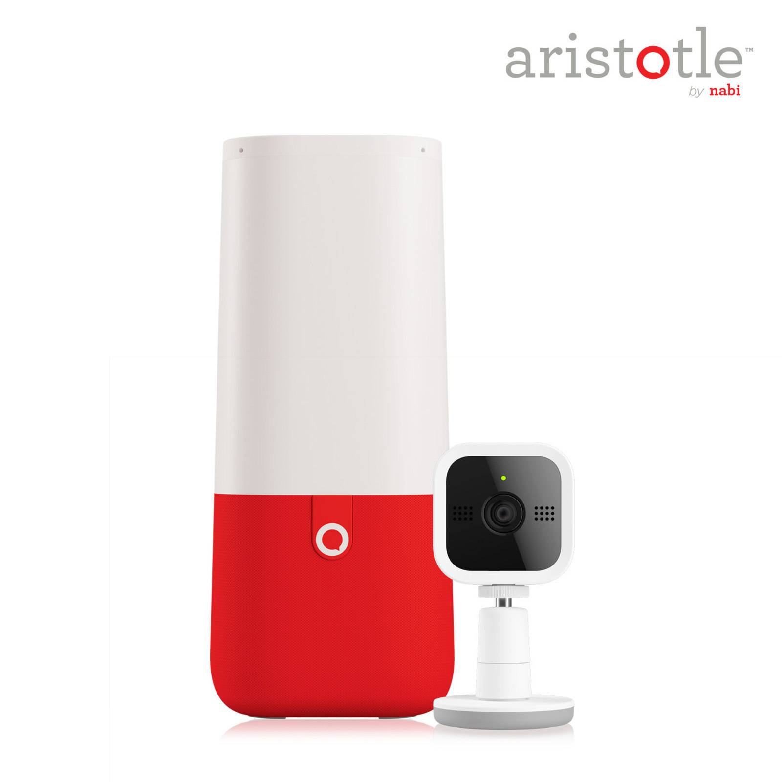 Aristotle, a smart home hub aimed specifically at kids, made by Mattel's Nabi brand. Mattel said Wednesday that it will not move forward with plans to sell the device, which was designed for a child's room starting from infancy.