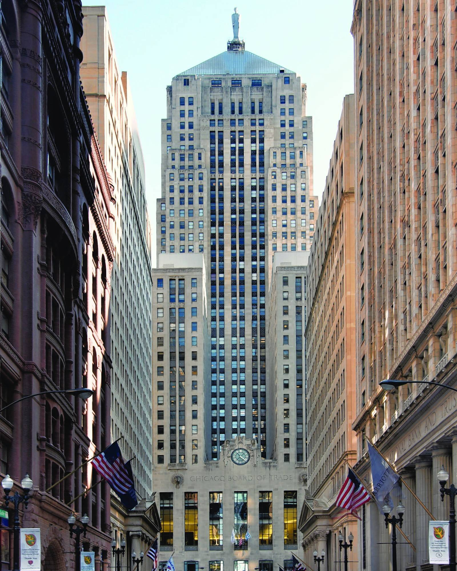 Explore the Chicago Board of Trade building and learn about Chicago's distinctive architecture during Open House Chicago Oct. 14-15.