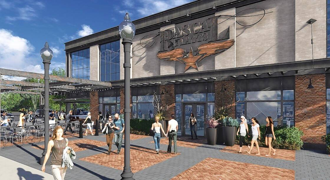 Popular country band Rascal Flatts is planning to include the Arboretum of South Barrington in its nationwide rollout of restaurants and entertainment venues. This is an artist's rendering of the proposed South Barrington location.