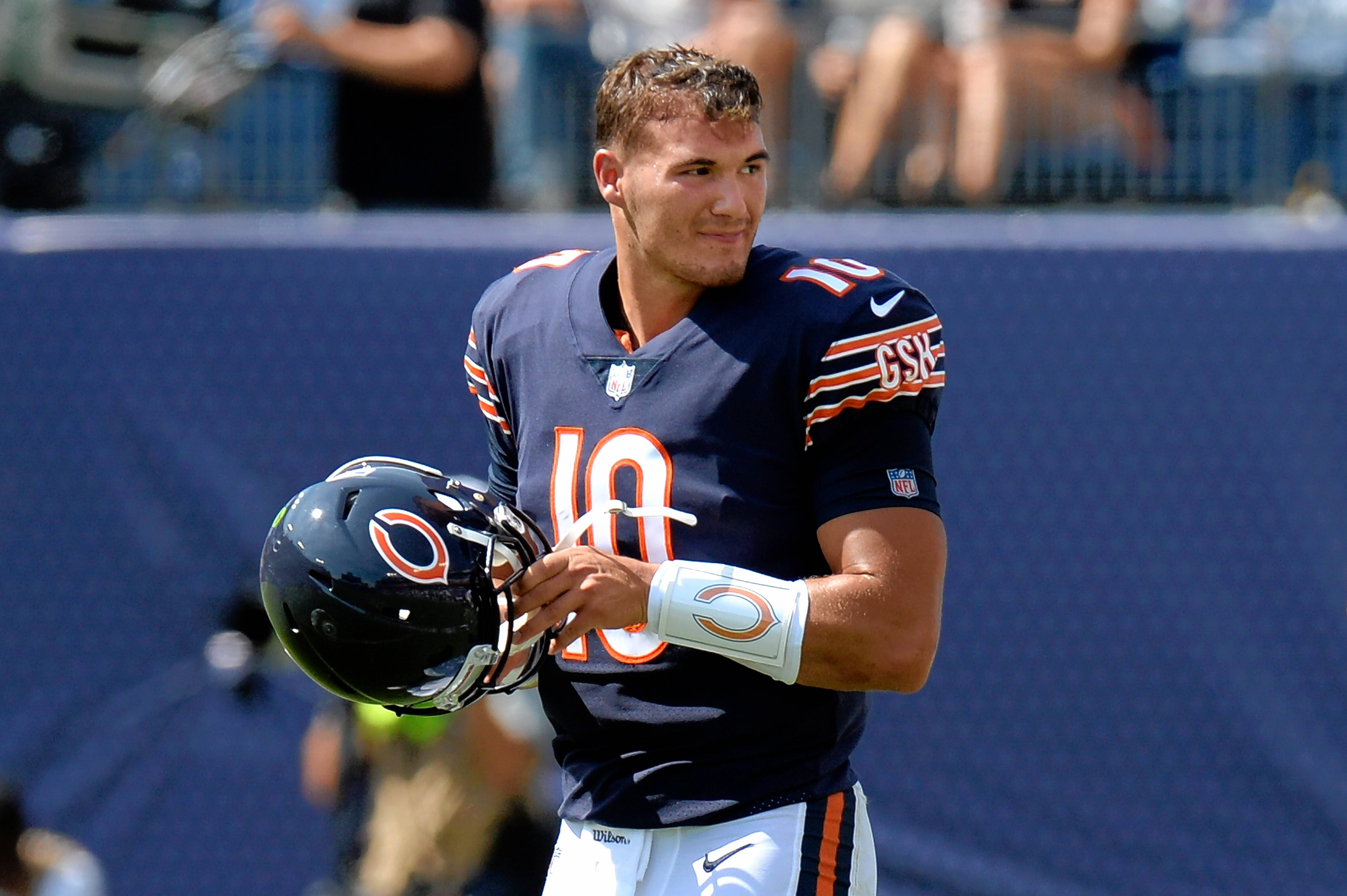 Can Mitch Trubisky lead the Chicago Bears to victory?