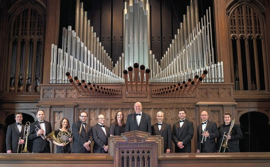 The Chicago Gargoyle Brass and Organ Ensemble will perform in concert Oct. 22 at St. Michael Catholic Church in Wheaton.