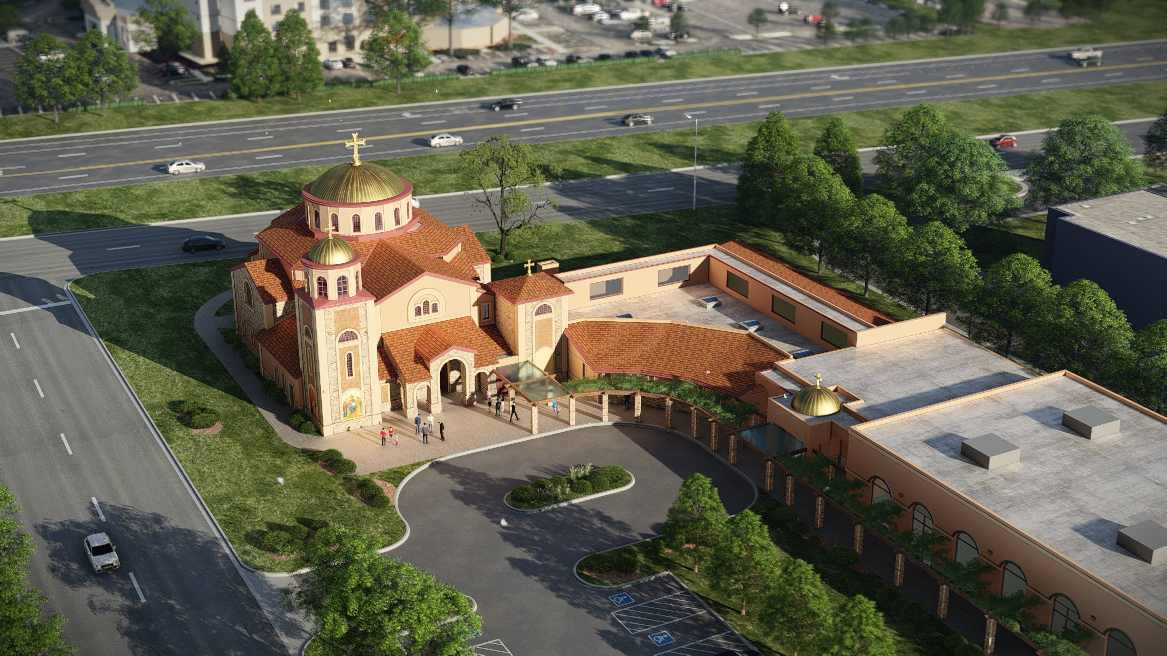 "St. Sophia Greek Orthodox Church in Elgin is in the midst of a capital campaign, ""Building Together,"" to raise $5.5 million to construct a new Byzantine-style church, classrooms, and administration building."
