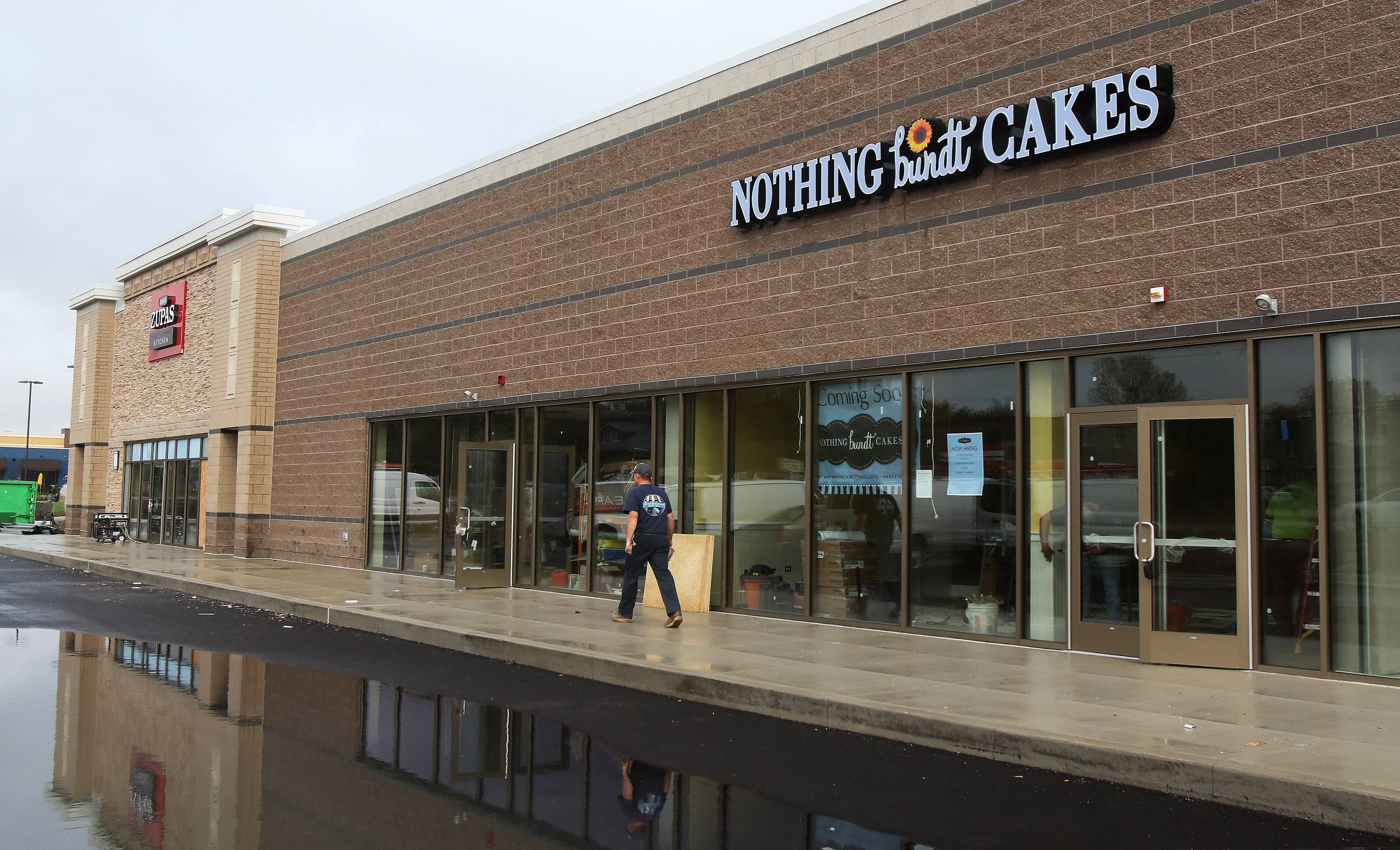 Three restaurants and Nothing Bundt Cakes are opening in November in an outlot at the new Kildeer Village Square on Rand Road.