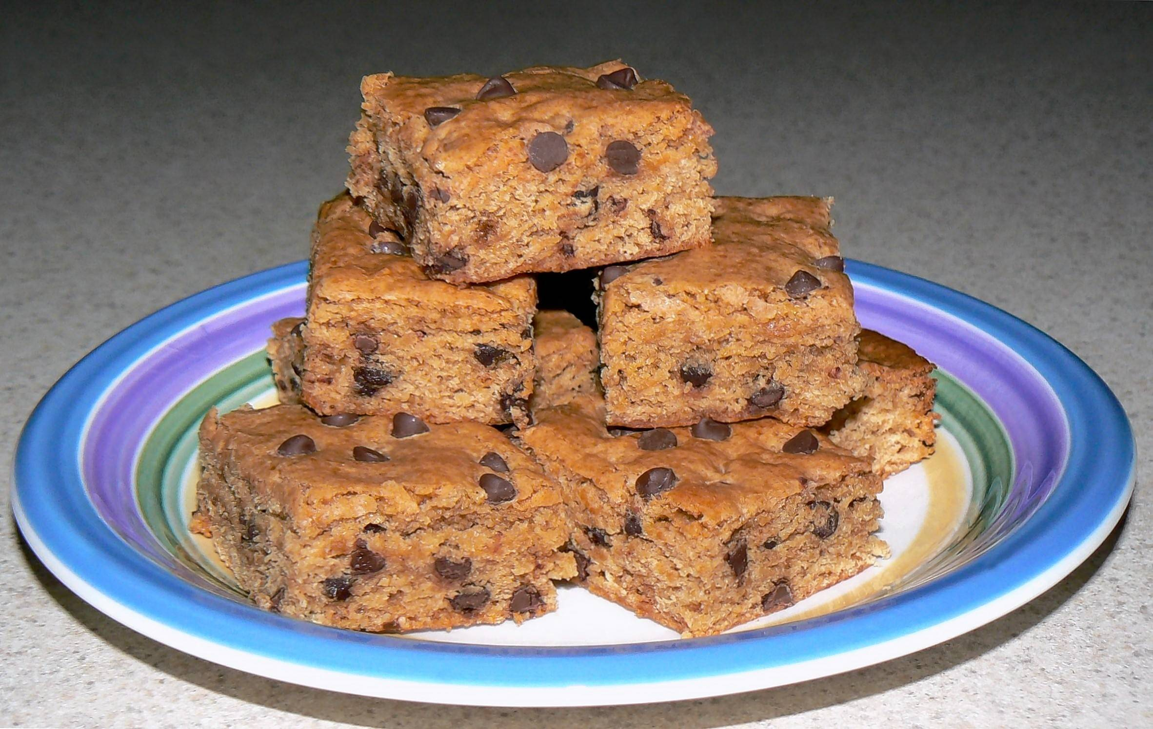Don Mauer's anniversary gift to you: easy-to-make, fat, sugar and calorie reduced blondies made with real ingredients.