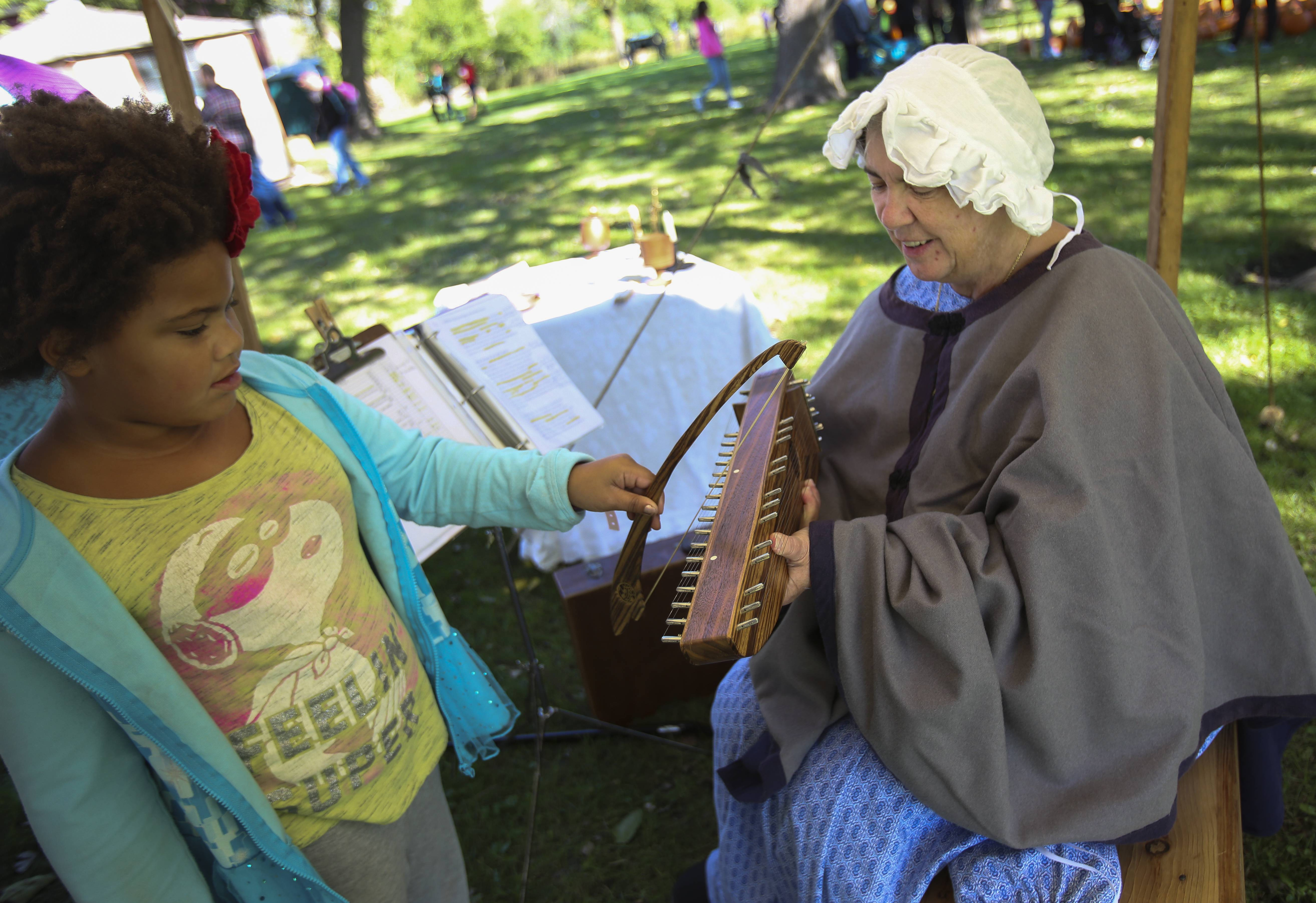 Visitors can step back in time Saturday when Bensenville celebrates Heritage Day at Fischer Farm.