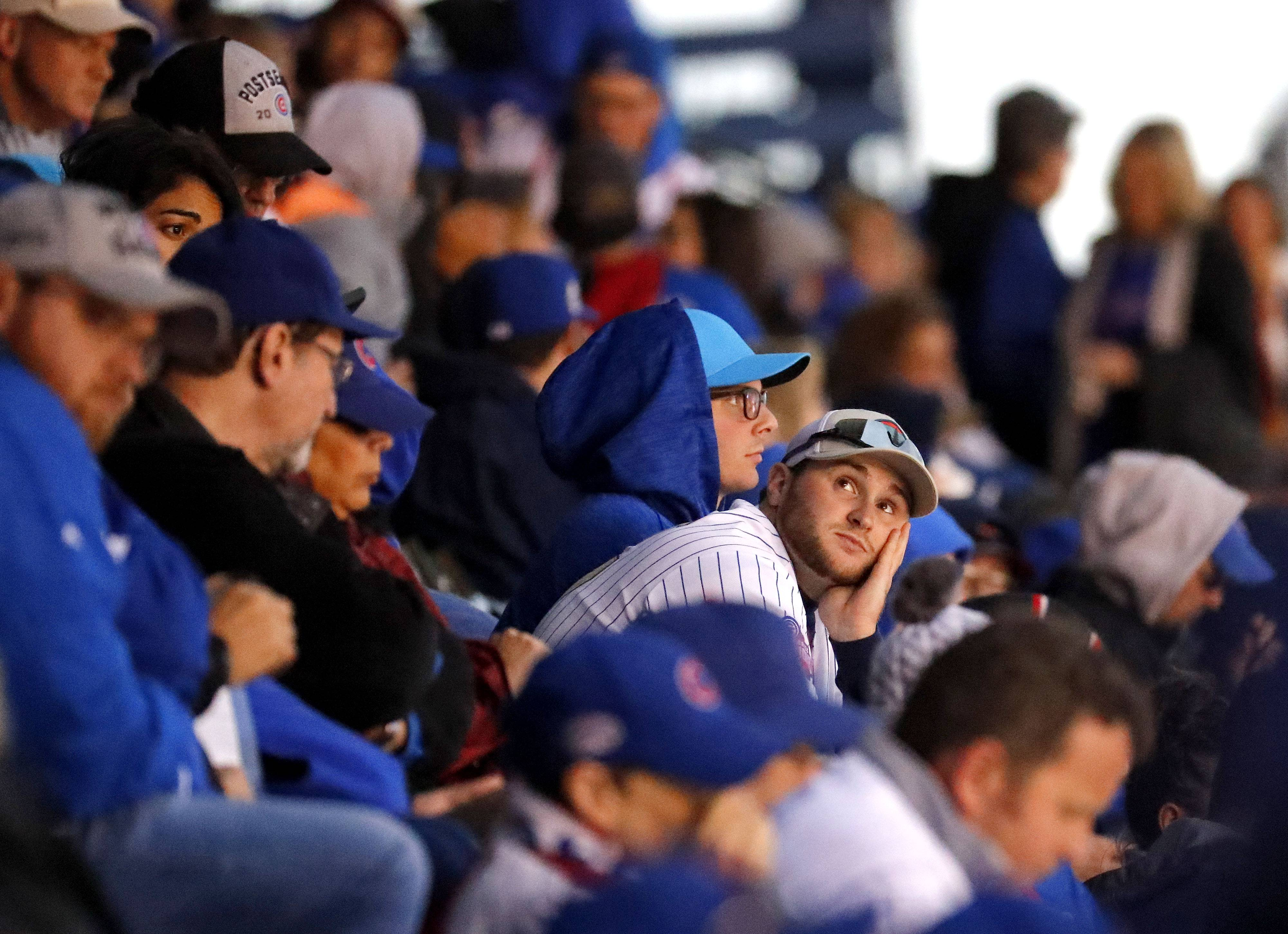 Cubs game outlook: Highest chance of rain ending, but still pack your poncho