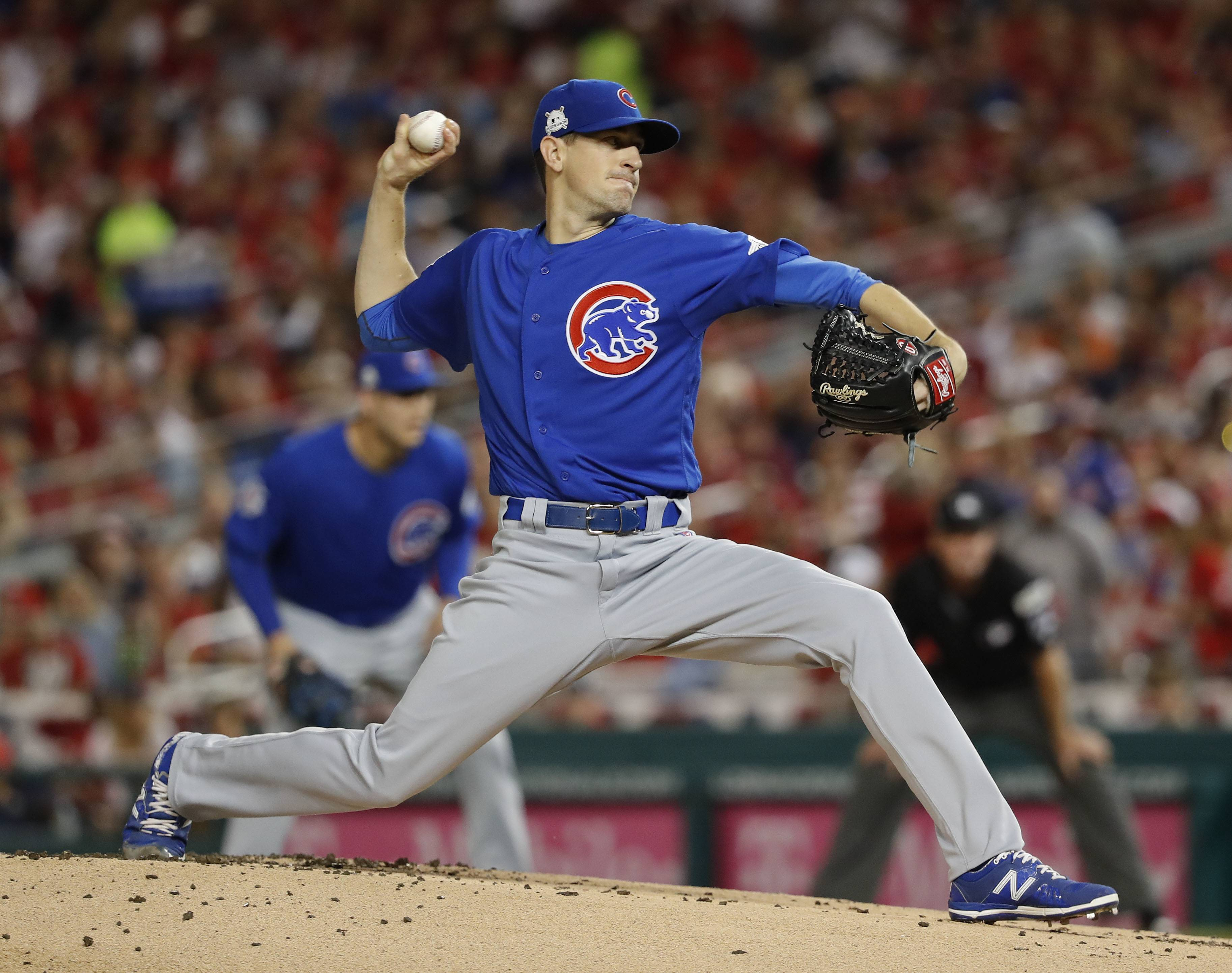 The right man, Kyle Hendricks, will start Game 5. He has pitched as well as anybody in the game down the stretch. If the Cubs do manage to win, they likely will go with Jose Quintana in Game 1 of the NLCS on Saturday because Jon Lester worked 3⅔ innings Wednesday.