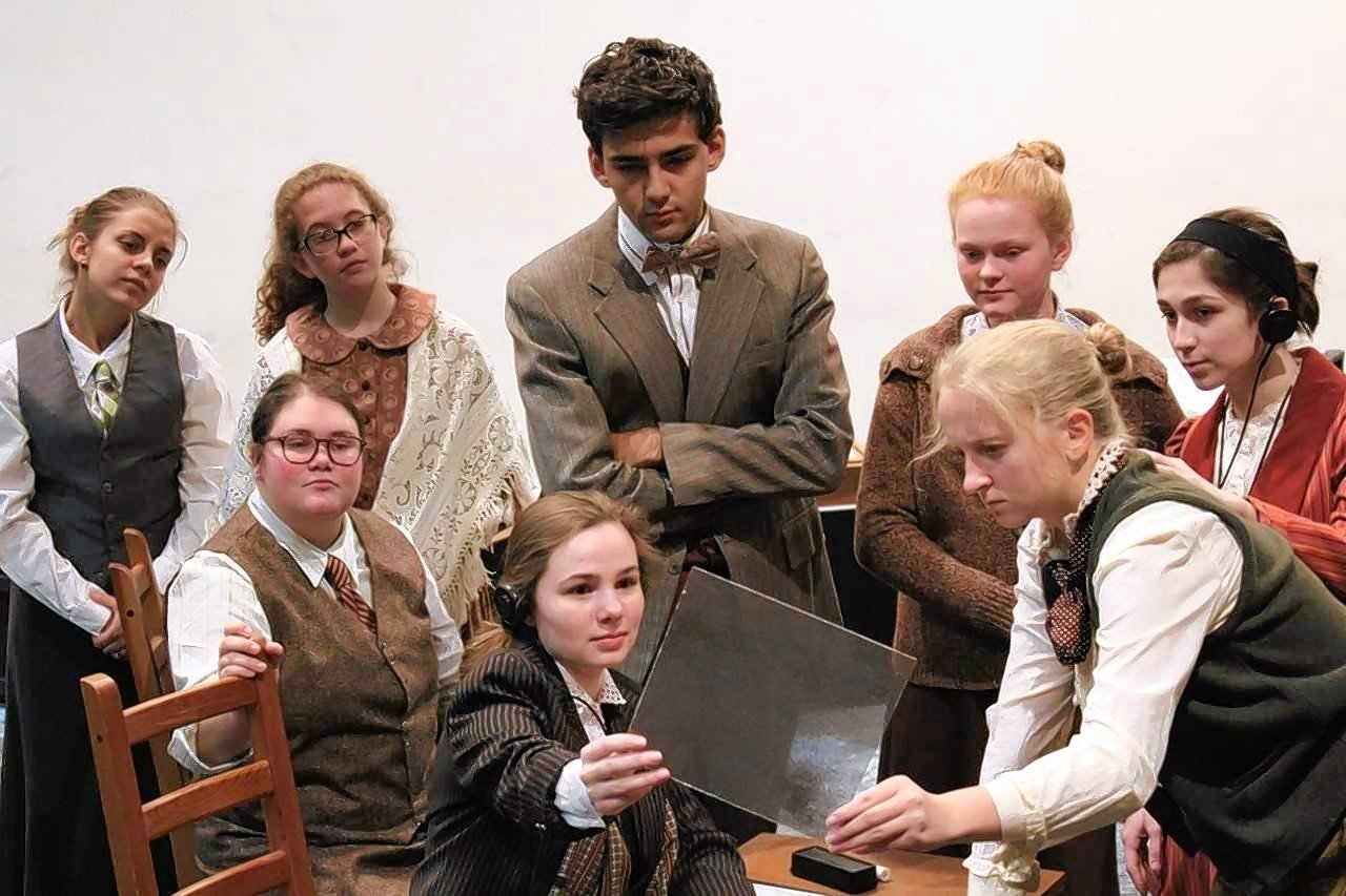 "Maine West High School's fall play, ""Silent Sky,"" examines a woman's place in society during a time of scientific change, when women's ideas were routinely ignored or dismissed until men took credit for them."