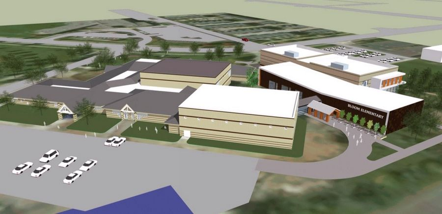 The District 73 board this week got its first look at details of a proposed $12 million kindergarten facility to be added onto the Vernon Hills Park District's Sullivan Center.