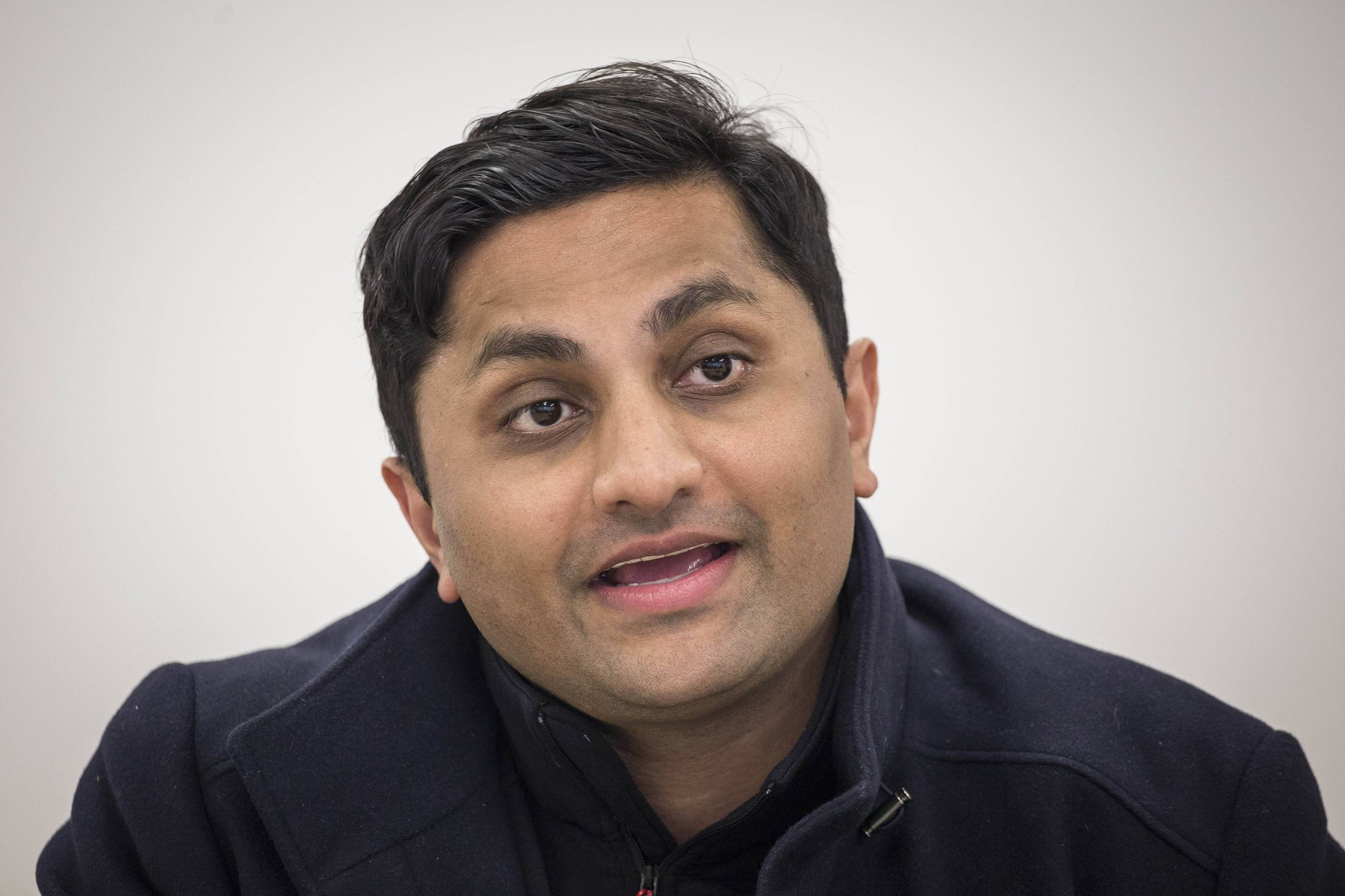 Democratic candidate for Illinois governor Ameya Pawar, a Chicago Alderman , says he's ending his bid for the Democratic nomination for Illinois governor because he doesn't have enough money. Pawar said in an email to supporters Thursday that he doesn't have the resources to mount a successful statewide campaign.