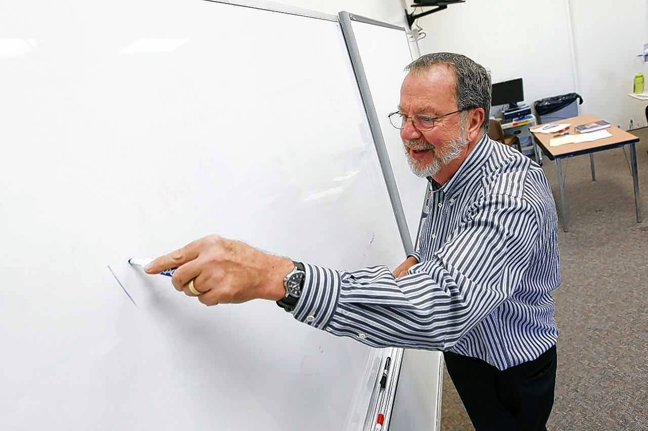 Richard Wilders, a math professor at North Central College in Naperville, will give a keynote speech Saturday during a new math competition planned by a Naperville North High School student.
