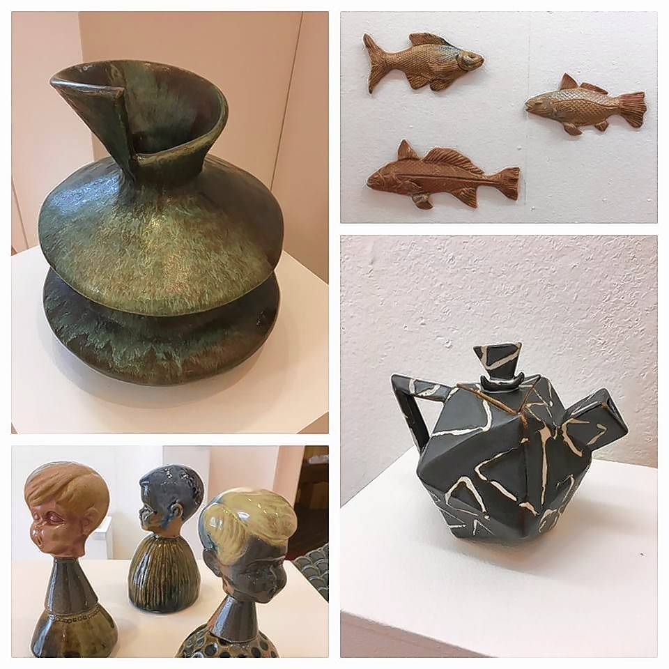 "McHenry County College's student ceramics exhibition, ""Not Yet,"" features recent works from students with varying approaches. It is on display through Oct. 26 at the Woodstock Courthouse Satellite Gallery."