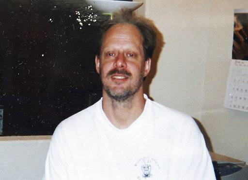 FILE - This undated file photo provided by Eric Paddock shows his brother, Las Vegas gunman Stephen Paddock. Police initially said Stephen Paddock stopped firing on the music festival concert crowd below to shoot through his door and wound a Mandalay Bay security guard who was outside. On Monday, Oct. 9, 2017, they said the guard actually was wounded before Paddock started the massacre. (Courtesy of Eric Paddock via AP, File)