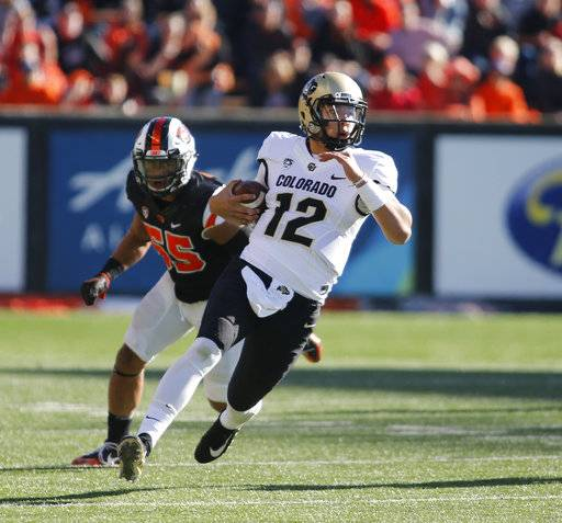 Colorado Beats Oregon State 36-33 For 1st Conference Win