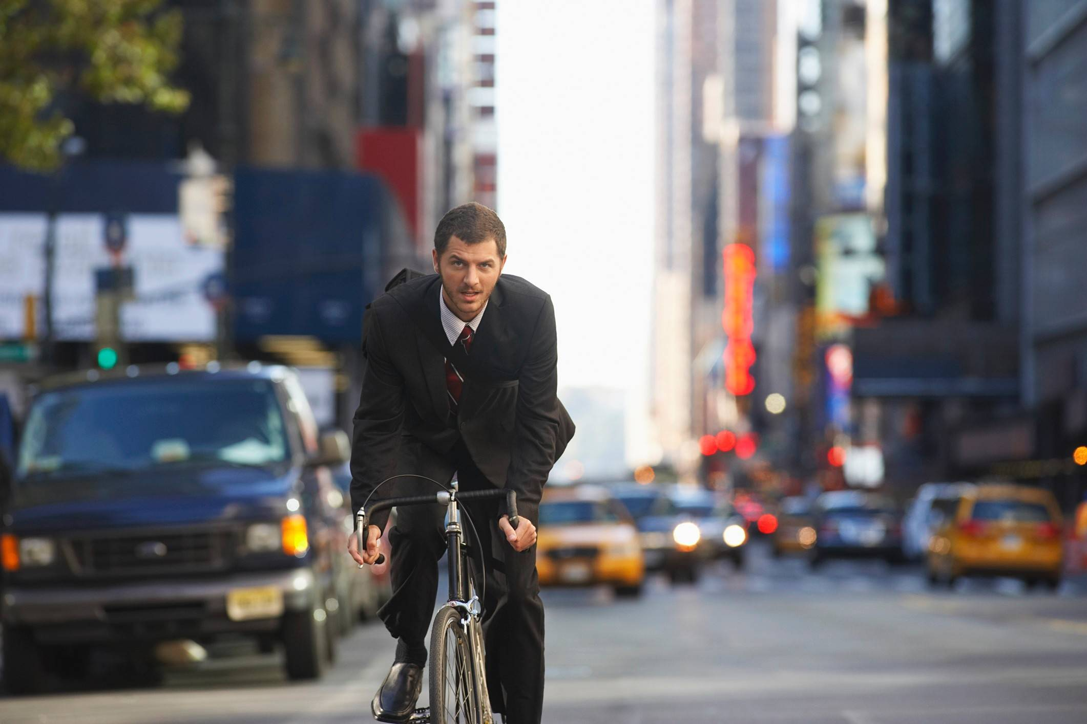The proportion of Americans who bike to work quadrupled from 2000 to 2015, according to census data.