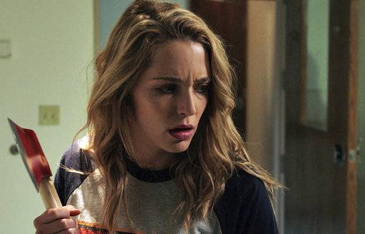 "Jessica Rothe stars in ""Happy Death Day."""