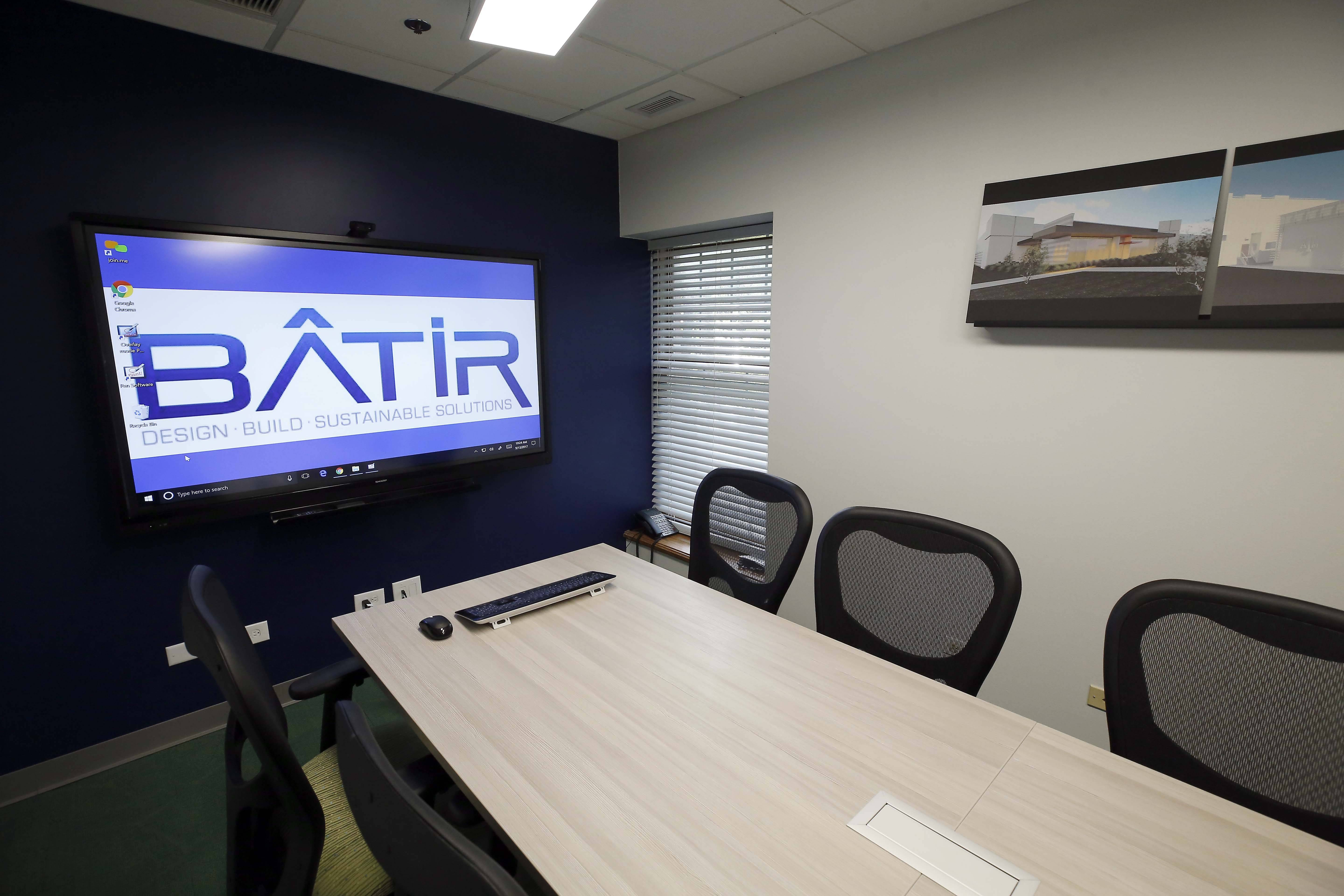 Batir Architecture won the Daily Herald Business Ledger workplace makeover contest and received a new conference room.