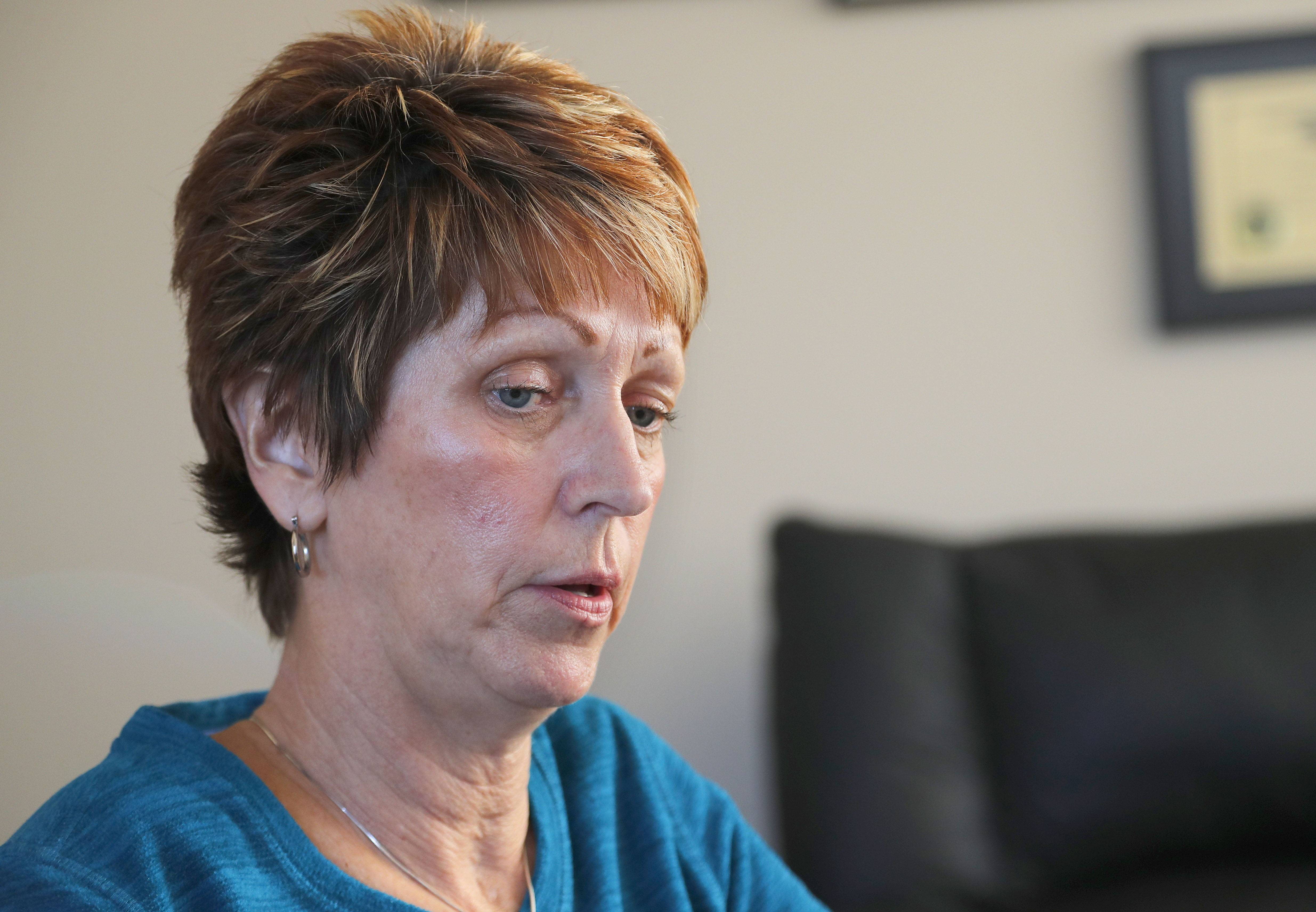 Bonnie Liltz, the Schaumburg mom sentenced to four years in prison for the death of her severely disabled daughter, talks to the Daily Herald Monday.