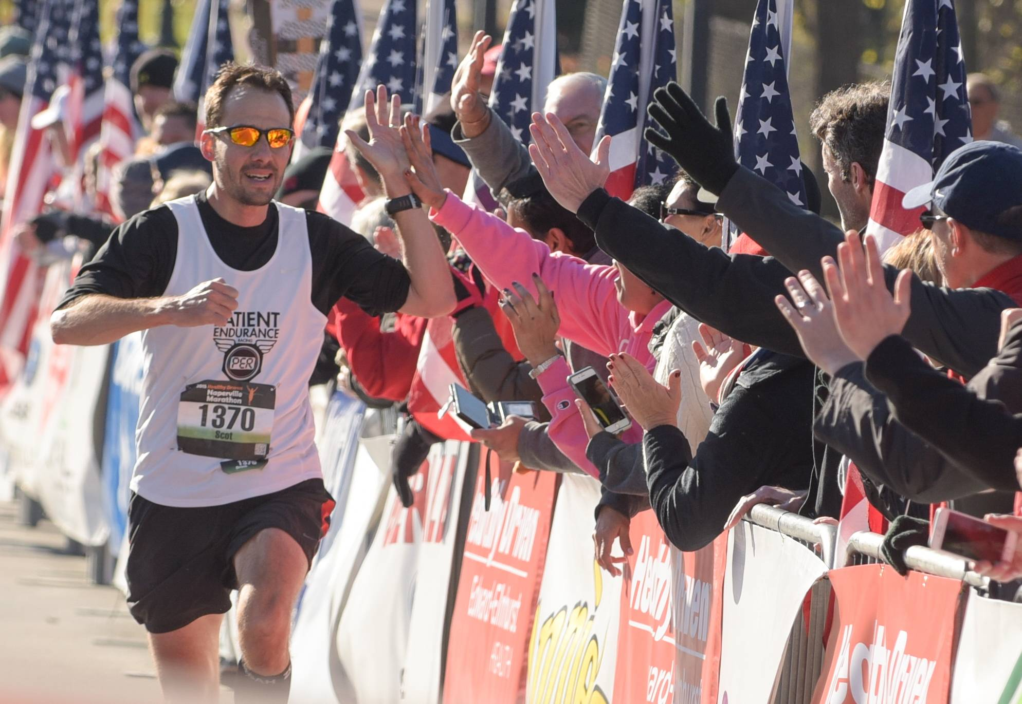 Runners will take to Naperville streets Sunday morning for the fifth annual Healthy Driven Half Marathon and 5K, which doesn't include a full marathon for the first time this year.