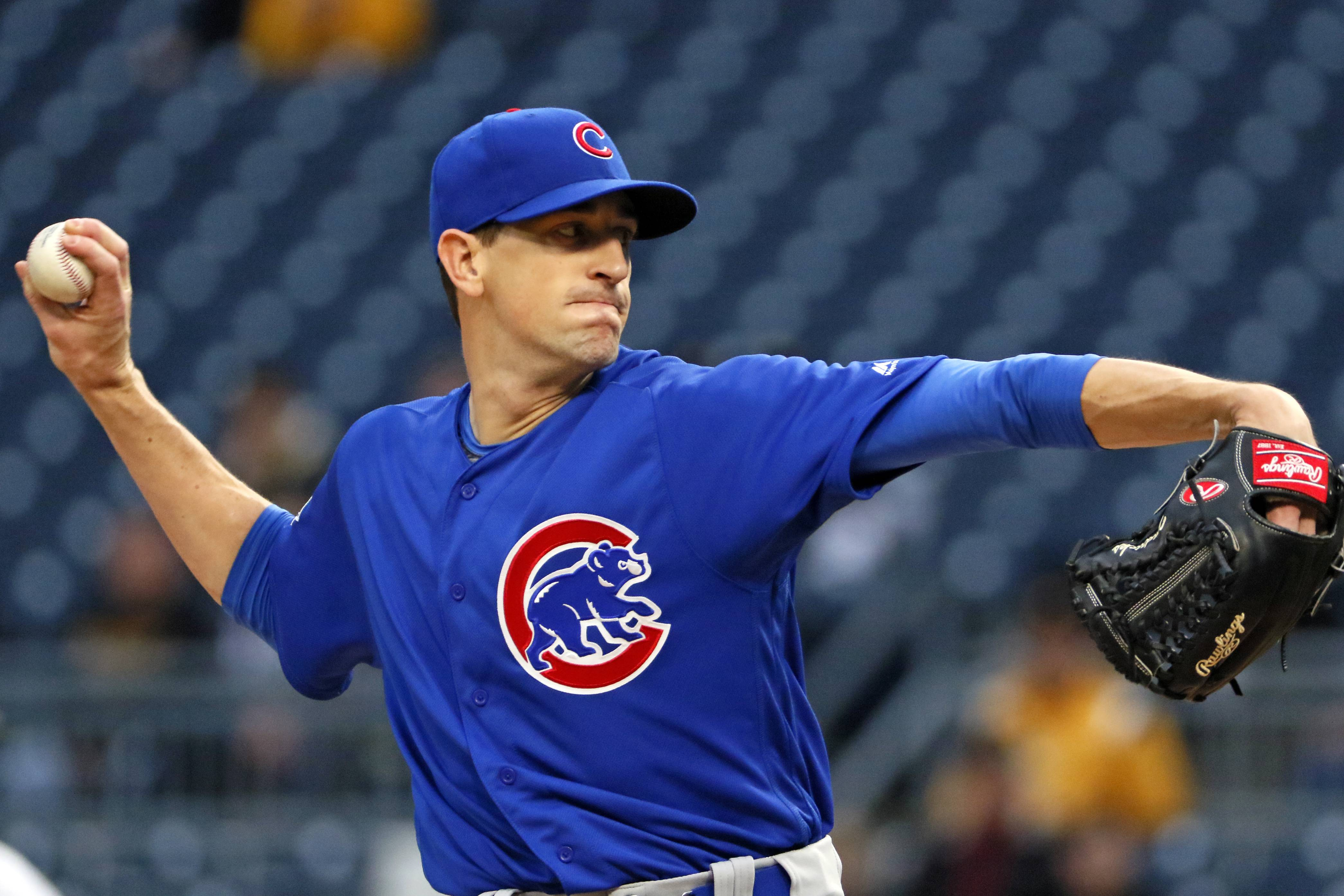 All of the pressure is on the Cubs, so having a cool hand like Kyle Hendricks on the mound is ideal as he starts against Los Angeles in Game 3 of the NLCS Tuesday night at Wrigley Field.