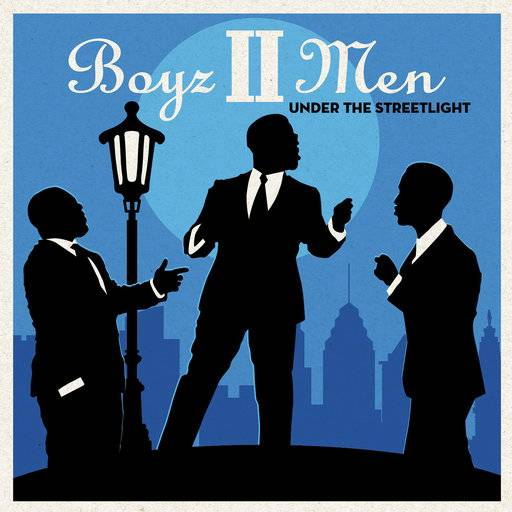 "This cover image released by Sony Masterworks shows ""Under the Streetlight,"" by Boyz II Men. (Sony Masterworks via AP)"