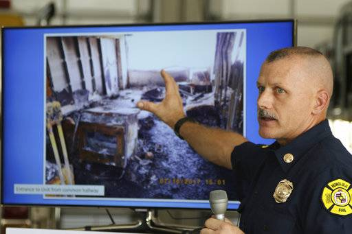 Cause of deadly Honolulu high-rise fire can't be determined