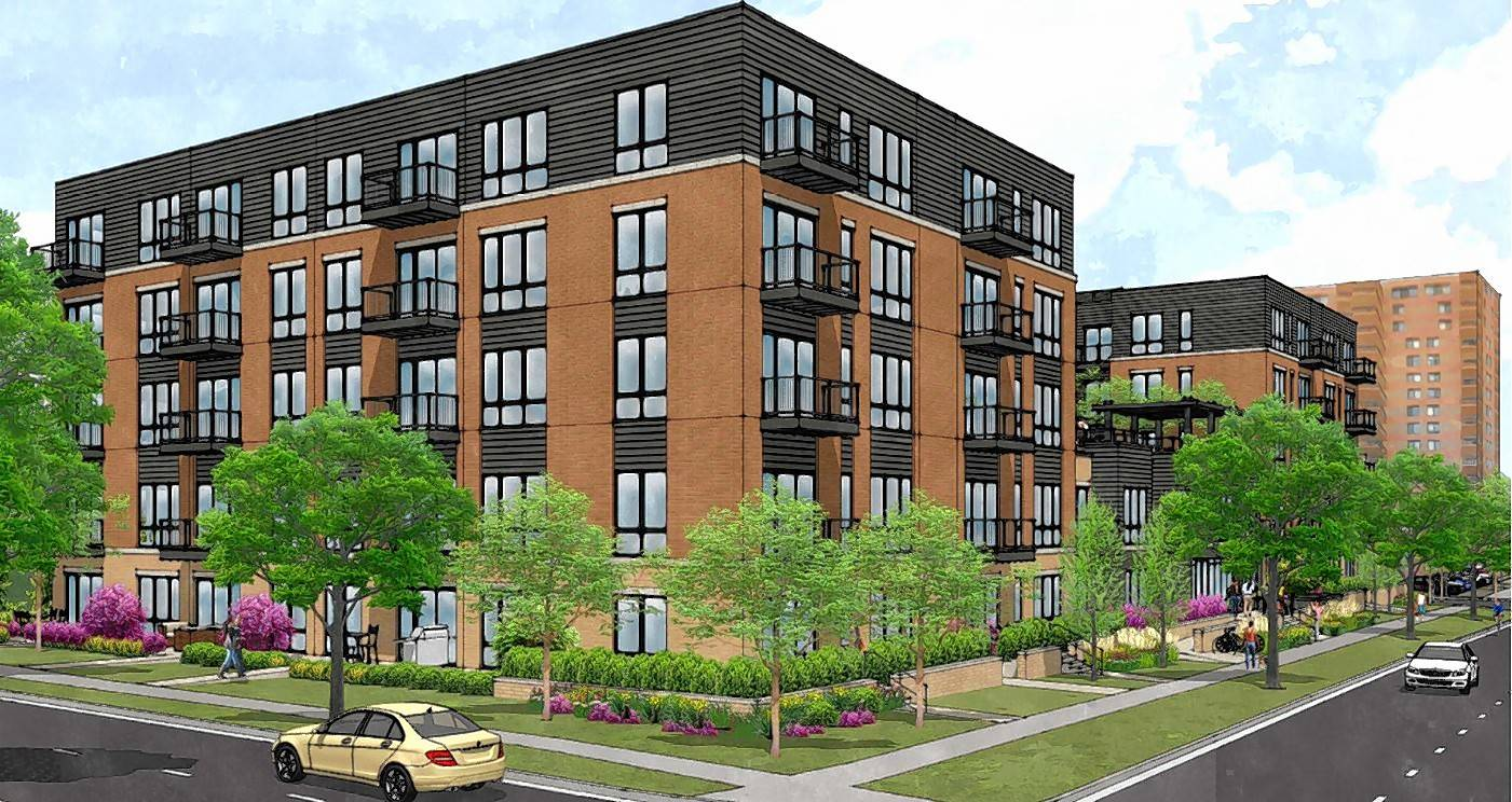 Arlington Heights rejects apartment building as too large