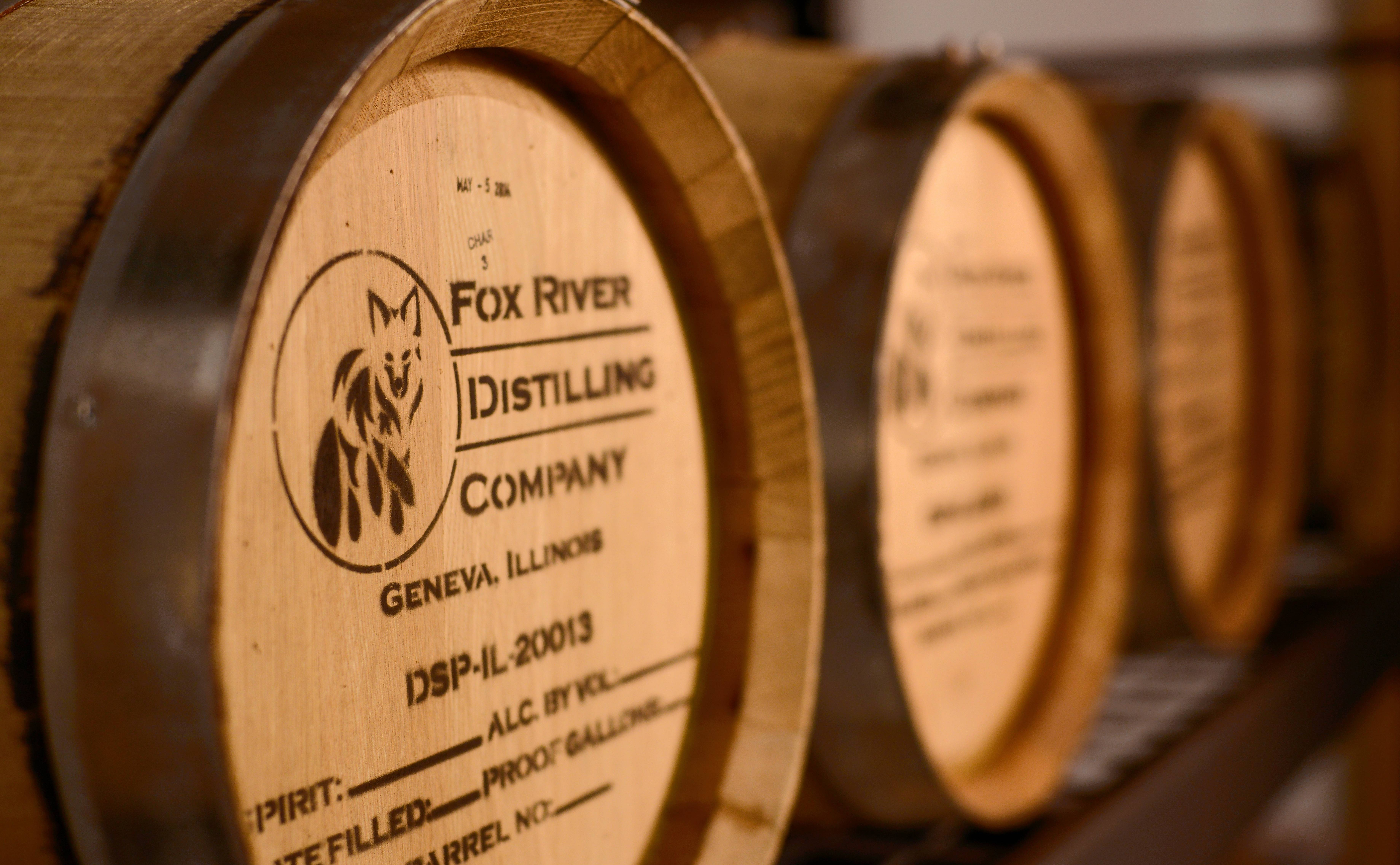 Tours at Fox River Distilling in Geneva include a look at the production area and information on what makes craft distilling different from mass production.