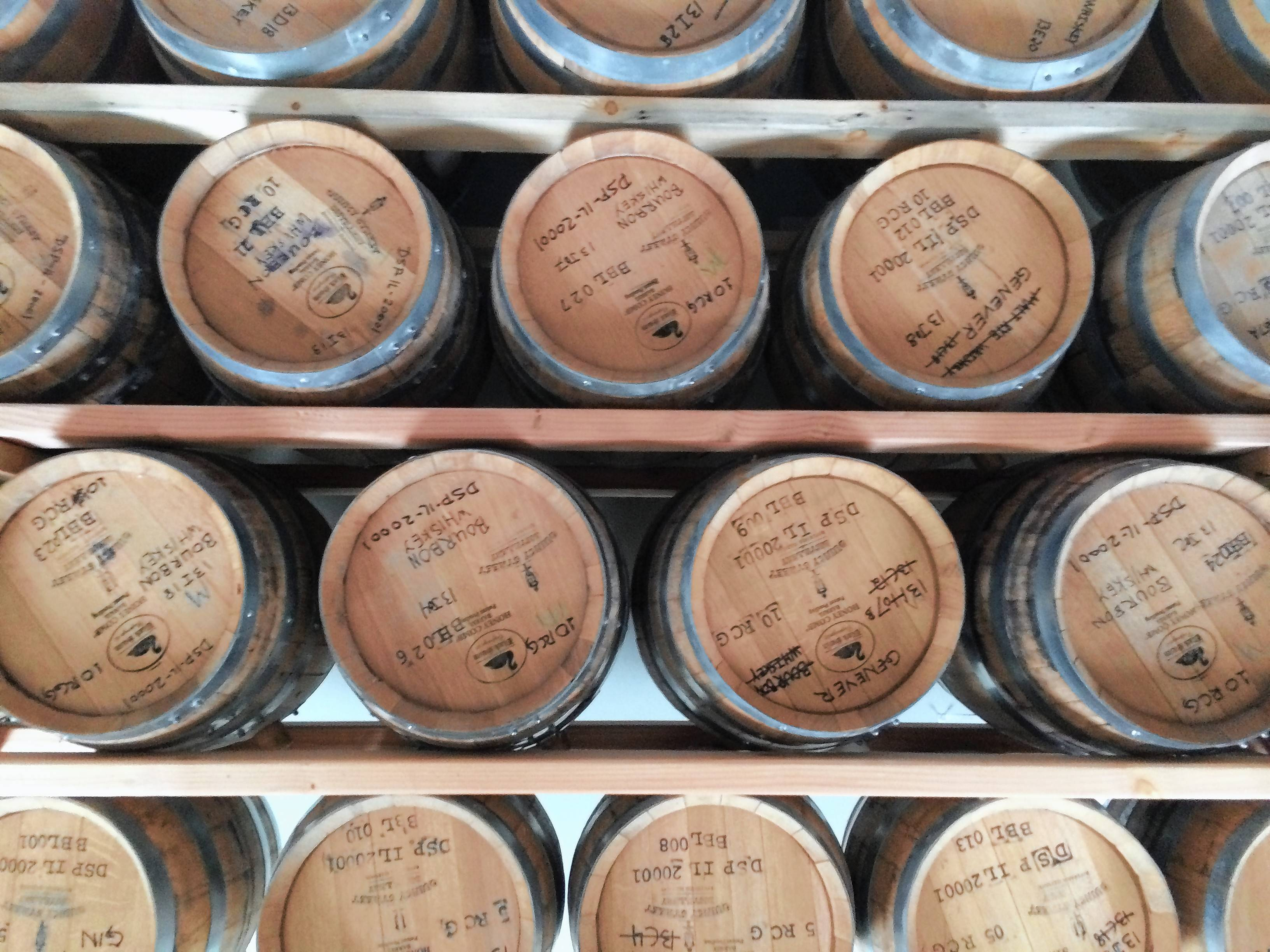 Learn about the whiskey distillation and aging process at Riverside's Quincy Street Distillery.